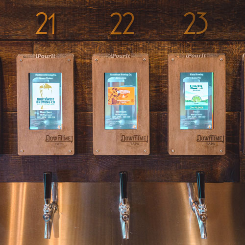 Pour-it-yourself taps